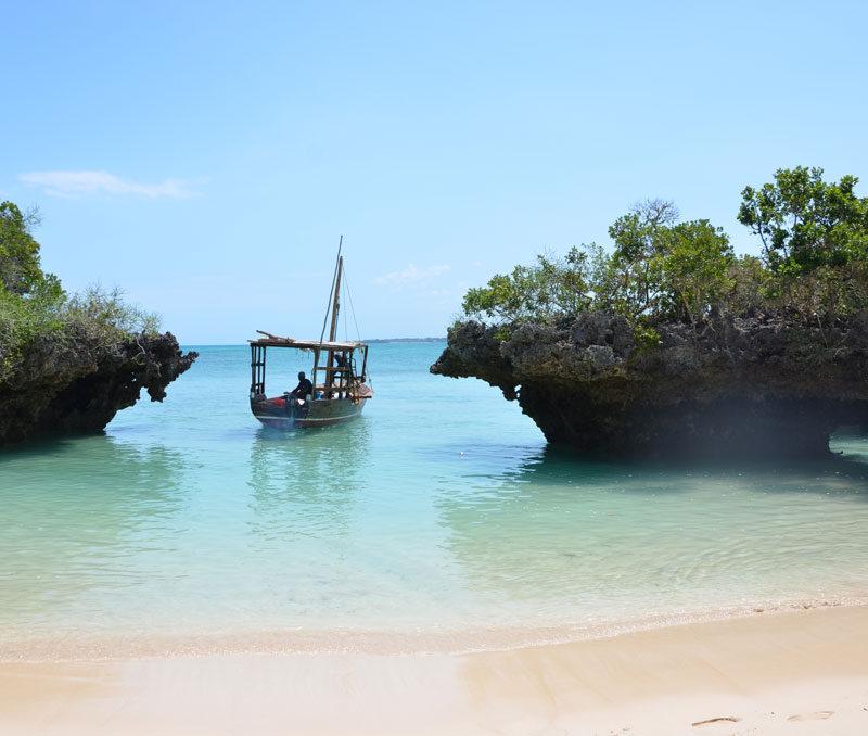 Beach boot africa