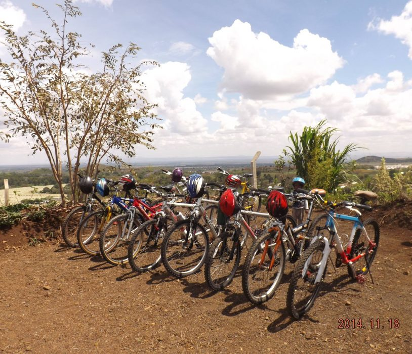 bicycles Africa tour